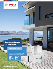 Geothermal Federal Tax Incentives